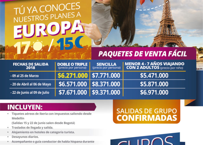 EUROPA 3 SALIDAS
